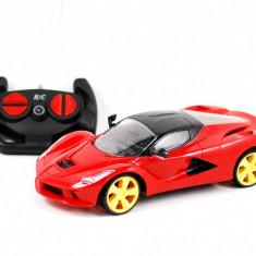 Masina de jucarie sport cu radio comanda - Masina sport de jucarie cu faruri functionale