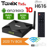 TV BOX Tanix TX6S ,Quad Core, 4GB,32gb,Android 10,Dual Wifi,Bluetooth,Nou