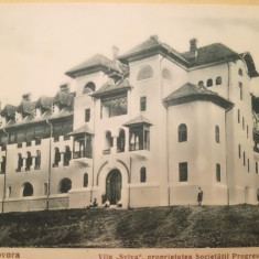 CP Govora, Vila Sylva, Progresul Silvic, 1934, R. Vâlcea, Anastasiu & Petrescu