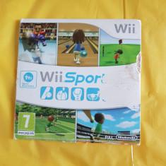 Vand jocuri nintendo wii , WII SPORT ,5 jocuri pe dvd