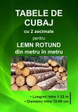 Tabele de Cubaj cu 2 zecimale pentru lemn rotund din metru în metru