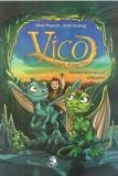 Vico, fratele dragonilor. Secretul talismanului stralucitor   Oliver Pautsch, Timo Grubing