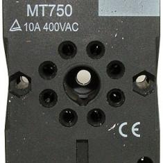 Soclu releu AS760, 60.12, 8 pini - 126972