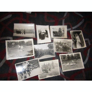 10 fotografii mici cu militari regalisti x35