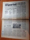 sportul 2 decembrie 1981-articol despre universitatea craiova,campioana tarii
