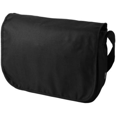 Geanta de Postas, Everestus, MU, 600D poliester, negru, saculet de calatorie si eticheta bagaj incluse foto