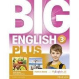 Big English Plus 3 Pupils' Book with MyEnglishLab Access Code Pack - Mario Herrera