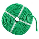 Franghie polipropilena, diametru 10 mm, lungime 100 m, Verde, General
