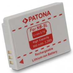 PATONA | Acumulator compatibil Canon NB5L NB 5L NB-5L