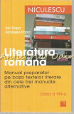Cumpara ieftin Literatura Romana. Manual Preparator a VIII-a - Ion Popa, Marinela Popa