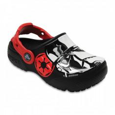 Saboți Băieți casual Crocs Crocs Fun Lab Stormtrooper Clog, 24.5, Negru