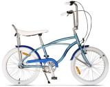 Bicicleta Pegas Strada Mini 3S 2017, Cadru 13inch, Roti 20inch, 3 Viteze (Albastru)