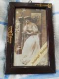 Regina Maria si Cercetasii Romaniei ,tablou splendid ,vechi ,original
