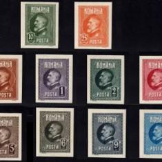 1926 - Ferdinand I, serie nedantelata neuzata