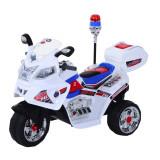 HOMCOM Motoreta Electrica pentru Copii Motoreta Jucarie 3 Roti cu Muzica, Lumini 112 × 51 × 72.5cm