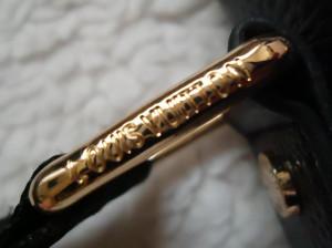 Borseta 2 fete + portchei barbati piele naturala Louis Vuitton 8 compartimente