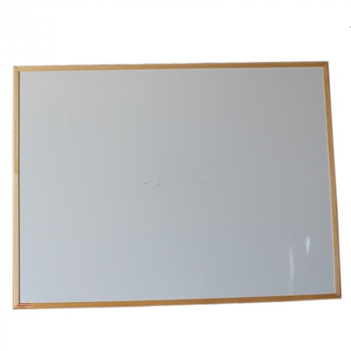 Tabla magnetica 120x90 cm, rama din lemn, Resigilata