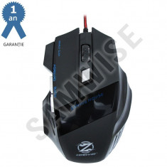 Mouse Gaming ZornWee Revival Z03, Optic, Negru, 2000DPI