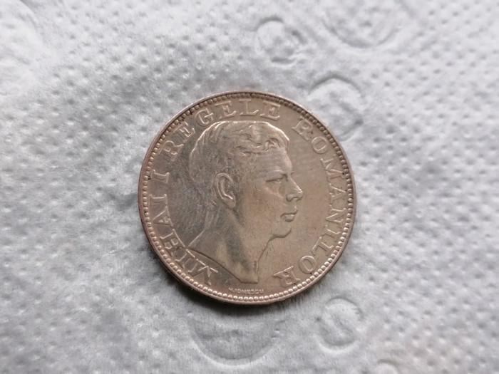 Romania 200 lei 1942 argint aunc .1