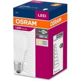 Bec LED Osram LED VALUE CLASSIC A E27 8.5W 60W 2700K 806 lm A+ Lumina calda
