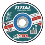 Disc debitare metal 125mm, Total Tools