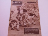 Revista SPORT-nr.22/11.1962 (prezentare U Cluj)