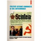 Politica externa comunista si exil anticomunist vol II