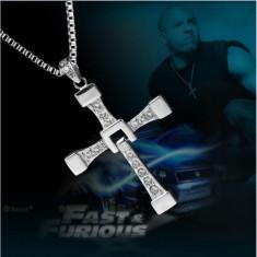 Pandantiv Colier Lantisor Medalion Vin Diesel Filmul Fast And Furious