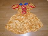 Costum carnaval serbare alba ca zapada pentru copii de 4-5-6 ani, Din imagine