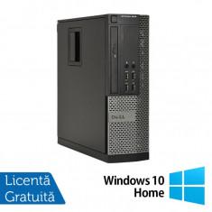 Calculator DELL OptiPlex 9010 SFF, Intel Core i5-3570 3.40 GHz, 8GB DDR3, 500GB SATA, DVD-ROM + Windows 10 Home