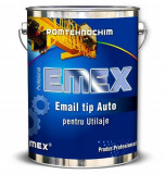 "EMAIL TIP AUTO PENTRU UTILAJE ""EMEX"", Negru, - Bidon 23 Kg"