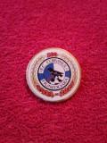 Insigna fotbal - FC CORVINUL HUNEDOARA (aniversare 100 ani 1921/2021)