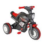 Motocicleta pentru copii cu pedale si lant Pilsan Cobra, Negru
