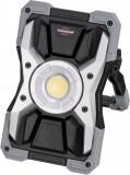 Cumpara ieftin Proiector LED podea portabil Brennenstuhl RUFUS 1500 MA, Acumulator reincarcabil USB-C, 15W COB LED, 1500lm, 15W IP65, Powerbank