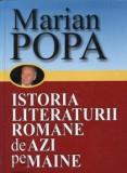 Istoria literaturii romane de azi pe maine, Vol. 1+2/Marian Popa, semne