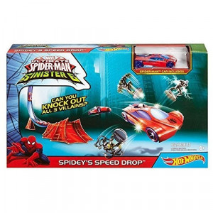 Set Jucarie Marvel Track Sets Spidey Speed Drop