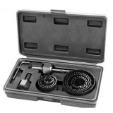 Cumpara ieftin Dispozitiv ajustabil de gaurit gips-carton Wert W2521, O22-64 mm, 11 piese