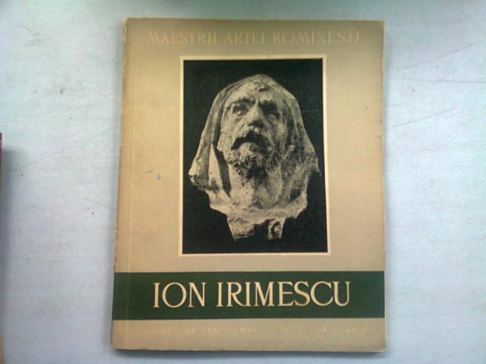 ION IRIMESCU de MARIN MIHALACHE