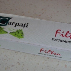 """AMBALAJ CARTUS VECHI CARTONAT TIGARI """"CARPATI"""""""
