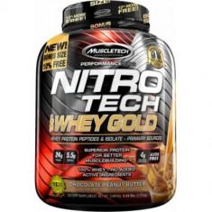 Muscletech Nitro-Tech 100% Whey Gold, 2.51 kg