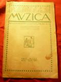 Revista Muzica -martie-aprilie 1923 an5 -nr3-4 ,16pag