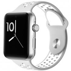 Ceas Smartwatch Telefon iUni DM09 Plus, Camera, BT, 1.54 inch, Silver