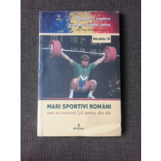 MARI SPORTIVI ROMANI CARE AU CONCURAT (SI) PENTRU ALTE TARI - DAN SILVIU BOERESCU