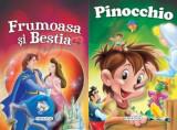 Cumpara ieftin 2 Povesti: Frumoasa si Bestia si Pinocchio/***