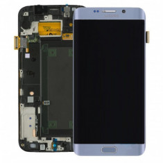 Display lcd cu touchscreen samsung galaxy s6 edge+ g928 gri original