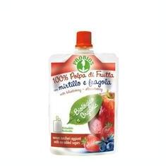 Piure Bio de Fructe fara Zahar - Mere Afine Capsuni Probios 100gr Cod: 8018699014118