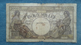 2000 lei 18 noiembrie 1941 bancnota Romania / filigran Traian / seria 0003