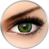 Enchanter Green - lentile de contact colorate verzi trimestriale - 90 purtari (2 lentile/cutie)