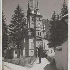 Carte postala Brașov - Biserica Sft. Nicolai interbelica