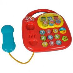 Jucarie ABC Telefon Muzical Red